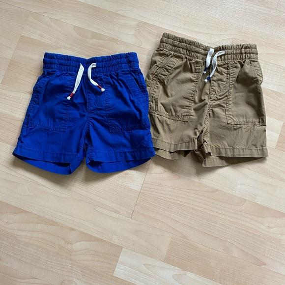 Drawstring Green Boys Baby Gap NWT Pull-On Shorts Size 2 Years Elastic Waist